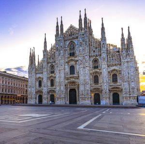 Hyrbil & biluthyrning Milano-Linate flygplats
